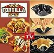 Perfect Tortilla Kitchen Pan Baking Tray Tin Mould Set Taco Salad Dips Bowl