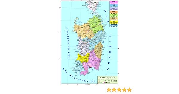 Cartina Sardegna 2017.Carta Geografica Murale Regionale Sardegna 100x140 Bifacciale Fisica E Politica Amazon It Cancelleria E Prodotti Per Ufficio