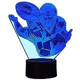 Die besten Fans Batteriebetriebene - InnoWill Football Fans Geschenke Lampe USB und batteriebetriebene Bewertungen