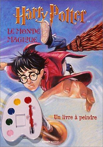 Le monde magique - Livre à peindre