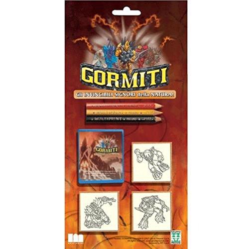 Gormiti 3 stamp set