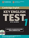 Cambridge Key English Test 1 Self Study Pack: Examination Papers from the University of Cambridge ESOL Examinations
