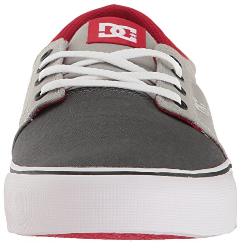 DC TRASE TXDSD Herren Sneakers Grey/Grey/Red