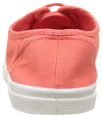 Bensimon Tennis Lacet Femme, Basse Donna Rosso (Coquelicot)