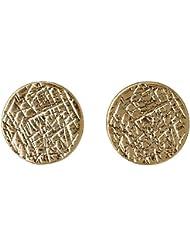 Pilgrim Jewelry Damen-Ohrstecker Messing Ear post vergoldet 1.0 cm  281342043
