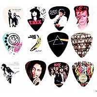 12 x Famous Album Cover Guitar Plectrums Picks Set B