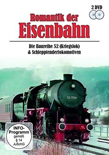 Romantik der Eisenbahn - Baureihe 52 (Kriegslok) & Schlepptenderlokomotiven [2 DVDs]