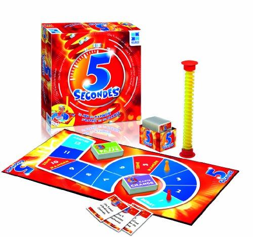 MEGABLEU 5 secondes Niños Juegos de preguntas - Juego de tablero (Juegos...