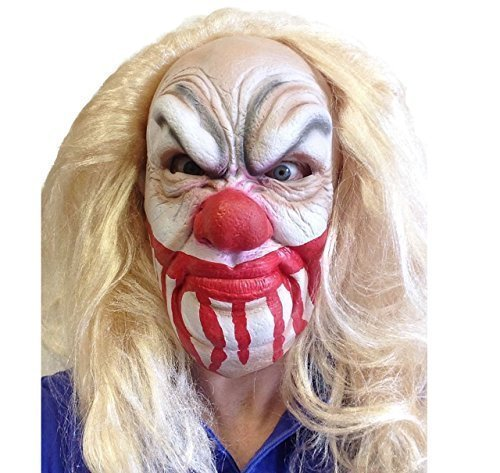 Unbranded Slipknot Maske Aus Latex Mörder-Clown Heavy-Metal-Band Movie FX Qualität Fancy Dress ()