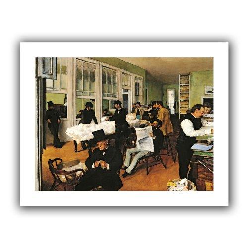 ArtWall \'The Cotton Office\' Wandbild Antik 28 by 36-Inch