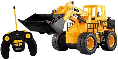 Top Race TR-113 Chargeur Frontal Frontal Frontal Complet Fonctionnel, télécommande électrique RC Tracteur de Construction avec lumières et Sons Jaune | Un Prix Raisonnable  16b1fe