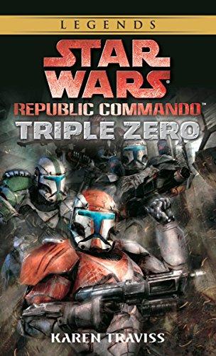 Triple Zero: Star Wars Legends (Republic Commando) Cover Image