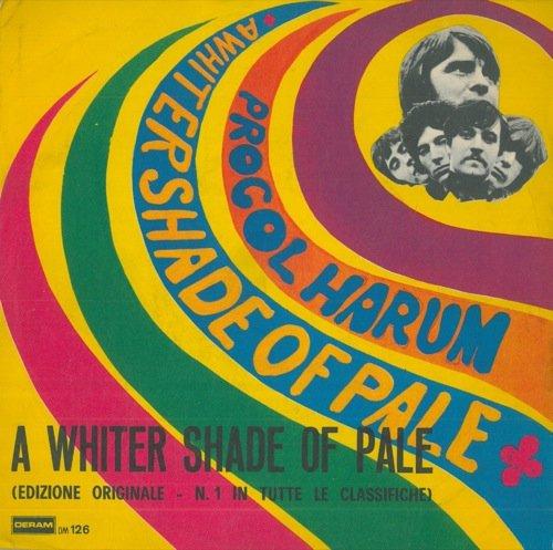 Procol Harum (A whiter shade of pale) - Bruno Lauzi (Il poeta) - Gino Paoli (Senza fine).