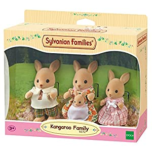 SYLVANIAN FAMILIES Sylvanian Families-5272 Familia canguros, Color Assorted Colours (Epoch para Imaginar 3148)
