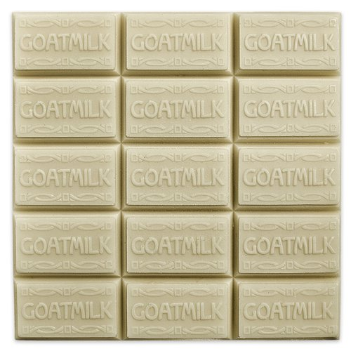 CybrTrayd Goat Milk Guest Soap Mold (MW 09) - Milky Way. Melt & Pour, Cold Process w/Exclusive Copyrighted Full Color Soap Molding Instructions in a Sealed Poly Bag