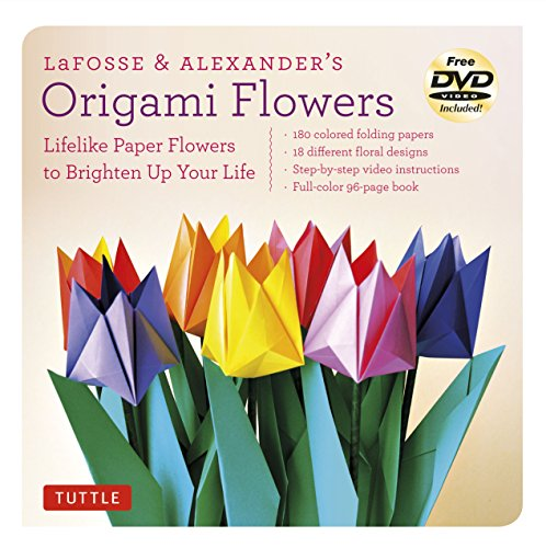 r's Origami Flowers Kit: Everything You Need to Create Beautiful Paper Flowers ()