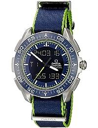Omega Speedmaster reloj automático de los hombres de titanio de cuarzo suizo 31892457903001