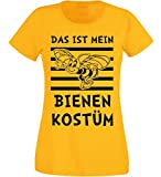 Aprom-Sports T-Shirt Damen - Bienen Kostüm 1 - Karneval Fasching