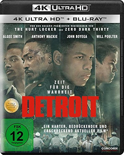 Detroit - Ultra HD Blu-ray [4k + Blu-ray Disc]