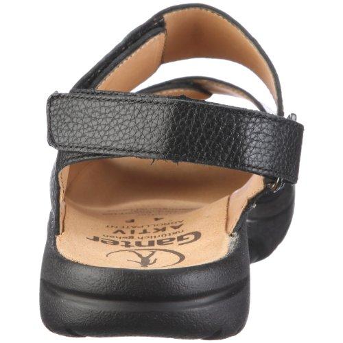 Ganter AKTIV Fabia Weite F 1-202321-0100, Sandales mode femme Noir - V.6