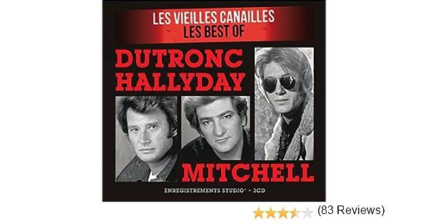 0aea199043 Les Vieilles Canailles - 3 CD: Johnny Hallyday, Jacques Dutronc: Amazon.fr:  Musique