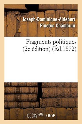 Fragments politiques (2e édition)