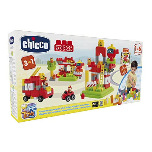 Chicco - Jeu De Construction - Set - App Blocks - 30 Pièces