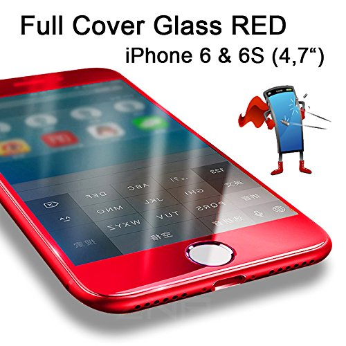 Premium HandySchutzGlas 3D Full Screen Cover für iPhone 6 / 6S (4,7