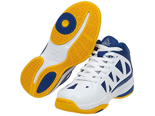 Chaussures PEAK Victor Junior Bleu/Blanc Blue / Yellow