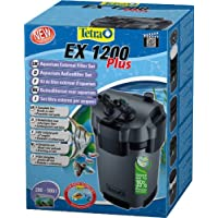 Tetra Filtre Extérieur EX 1200 Plus pour Aquarium Poissons eau douce tropicale/Poissons eau froide/Poissons eau salée