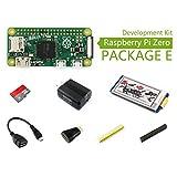 @WENDi Raspberry Pi Zero (E), with 2.13inch e-Paper HAT (B), HDMI to HDMI Adapter, OTG Cable, Micro SD Card 16GB, etc.