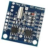 D DOLITY Módulo TTY RTC I2C Chip con Circuito Integrado de Detección de Energía Radiotransmisor Pared