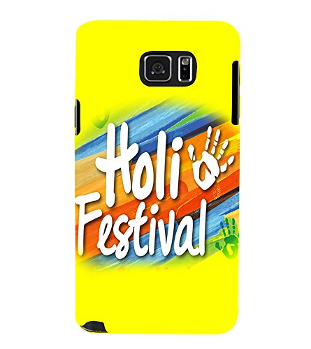 PrintVisa Designer Back Case Cover for Samsung Galaxy Note 5 :: Samsung Galaxy Note 5 N920G :: Samsung Galaxy Note5 N920T N920A N920I (Holi A Great Festival)
