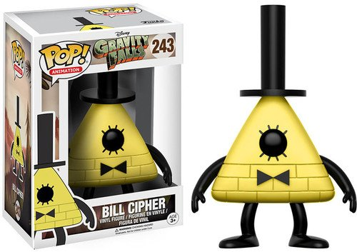 POP! Vinilo - Gravity Falls: Bill Cipher, amarillo y...