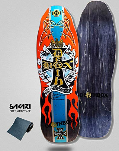 6d9eac73c4a lordofbrands Monopatín Skate Skateboard Deck Old School H-Street Dave  Hackett DEATHBOX 10.0