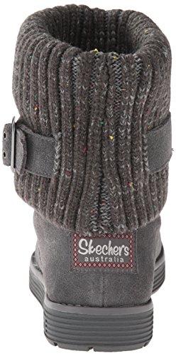 Skechers Adorbs Damen Halbschaft Stiefel Grau (Ccl)