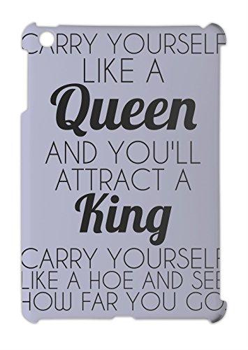 Carry Yourself Like A Queen Funny Slogan iPad mini - iPad mini 2 plastic case, coques iphone