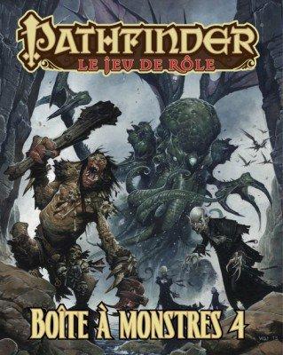 Pathfinder Boite a Monstres 4 VF Blackbook Edition