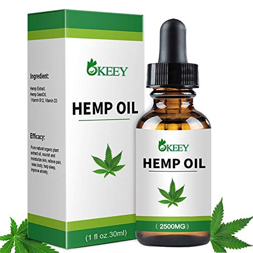 Aceite De Cáñamo, BUDDYGO BIO HEMP OIL 1fl oz.30ml, Ideal Para la An