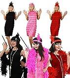 Produktbild von Charleston, Flapper Kostüm für Damen in der Farbe schwarz