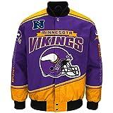 "Minnesota Vikings Men's NFL G-III ""Enforcer"" Premium Twill Jacket"
