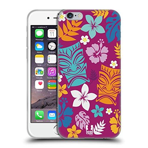 Head Case Designs El Flamenco Anniversario Mix Cover Morbida In Gel Per Apple iPhone 7 Plus / 8 Plus Tiki