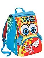5cd3f5fa3d Zaino scuola sdoppiabile SJ - BOY - Azzurro Giallo Arancione - FLIP SYSTEM  - 28 LT 3 pattine sfogliabili elementari e medie