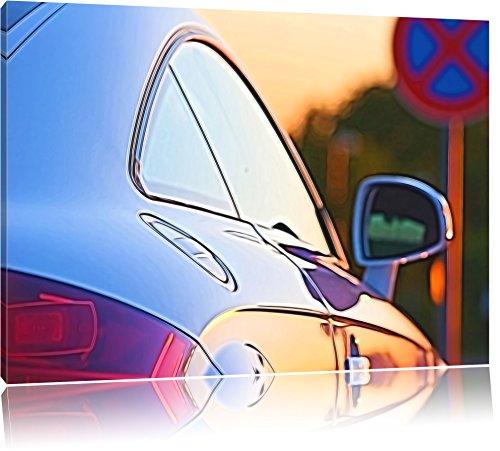 VW Golf, pittura su tela, Immagini XXL