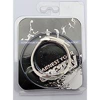 Marcador de pelota de Golf blanco titanio pulsera magnética con desmontable (caja de regalo o Blister)