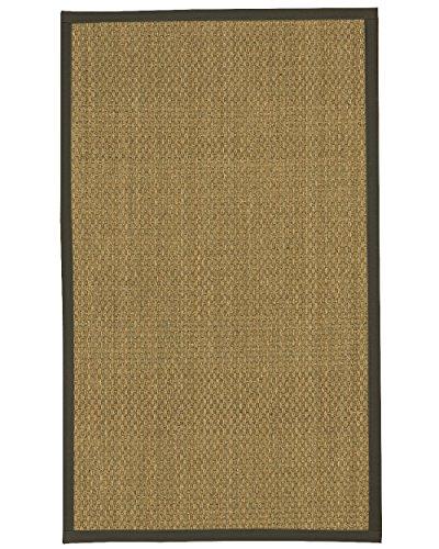 6 Moos Teppich (NaturalAreaRugs Kalabrien Seegras Bereich Teppich, moos, 2' 6