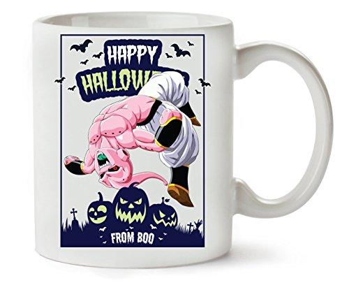 Happy Halloween From Boo Dragon Ball Anime Dbz Jack O Lantern Klassische Teetasse - Halloween-boo Sie Happy