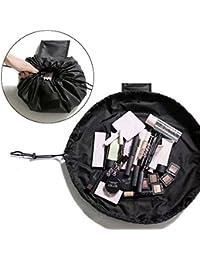 MLMSY Maquillaje Bolsa Con Cordón Bolsa de Viaje Portátil Pequeño Cosmético Magia Bolsa de Maquillaje Bolsas de Aseo Organizador de Almacenamiento de Maquillaje Perfecto para Mujeres Niñas