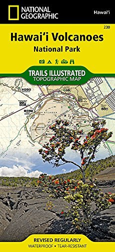 Hawaii Volcanoes National Park (National Geographic Trails Illustrated Map) by National Geographic Maps - Trails Illustrated (2010-01-01) par National Geographic Maps - Trails Illustrated