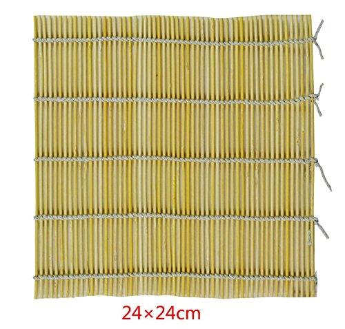 EQLEF® 2 pcs Handmade Bamboo Sushi Mat / Makisu width=